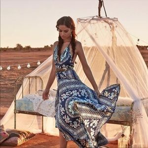 Spell & the Gypsy Night Garden Pandora halter gown